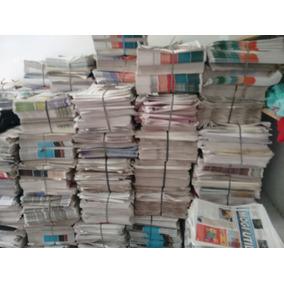 Jornal Velho 10 Kg Folhas Grandes Sem Revistas