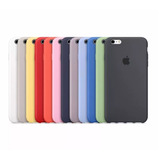 Funda Apple Silicona Silicone Case Iphone 6 6s Plus Original