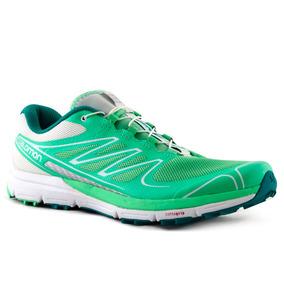 Zapatillas Salomon Sense Pro Mujer Verde