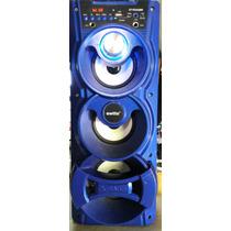Equipo De 3 Parlantes Escuchar Music Usb, Sd, Bluetooth, Aux