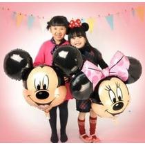 Globos De Mickey Y Minnie Mouse