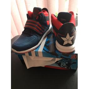 adidas Avengers Tenis Del Capitán América En Bota Para Niño