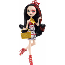 Ever After High, Lizzie Hearts Book Party Mattel- Nueva
