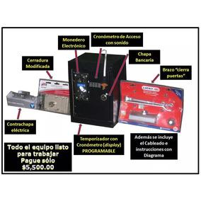 Monedero Acceso Electrónico Sanitarios Tempo-puerta Doble