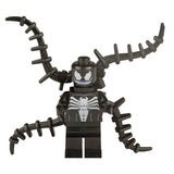 Fig Sax 08 Enemigo De Spiderman Venom Compatible Con Lego