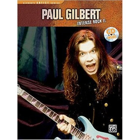 Paul Gilbert Intense Rock Ii - Tablatura Partitura Libro
