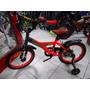 Bicicleta Aurorita Rod 16 Spider- Nuevo,mod 2017!! C/estabil