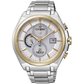 Reloj De Caballero Citizen Super Titanium Bicolor Eco Drive