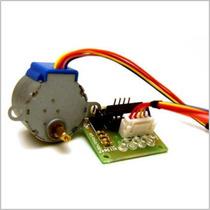 Motor A Pasos Con Tarjeta De Control Arduino Pic Avr