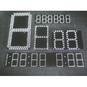 Plaqueta Display Led 7 Segmentos (diseño A Pedido)