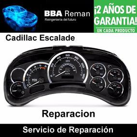 Tablero Cadillac Escalade Reparacion