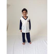 Pijama Comprido Infantil Para Menino - 2 A 12 Anos