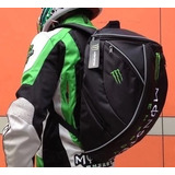 Mochila Bolsa Monster Energy Moto Impermeável