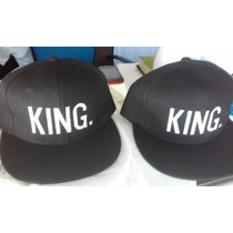 Gorras Queen Y King Bordadas