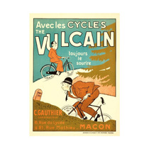 Vulcain Vintage Poster Ist: ) France C. 1905 Print, 24 X36