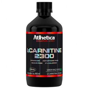 L-carnitina 2300 (480ml) - Atlhetica Nutrition - Maça Verde