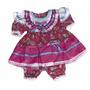 Vestido Festa Junina Princesa Menina Infantil 1 A 4anos Top
