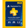 Psn Plus Card 12 Meses Membresia 1 Año Ps4 3 Argentina Mx Es