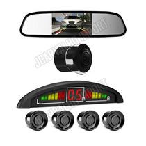 10 Pç Kit Sensor Estacionamento Câmera Ré Espelho Retrovisor