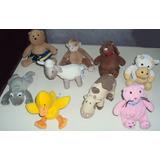 Coleccion De 9 Muñecos Peluche Marca Baby Gap Importados Usa