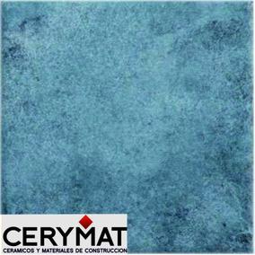 Rústico Azul Piso 30x30 Cerámica Cortines