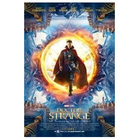 Dr. Strange Poster Original Cine (1mt X 70cm) Marvel