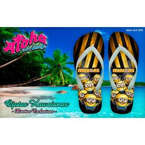 Ojotas Hawaianas Personalizadas Aloha P/niños - T 25 Al 34