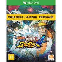 Naruto Shippuden 4 Mídia Física Português Lacrado