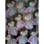 Mini Bonecas De Pano Para Lembrancinhas Ou Decoração 15cm