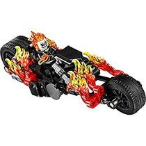 Juguete Lego Ghost Rider Con La Motocicleta - Nuevo Para El