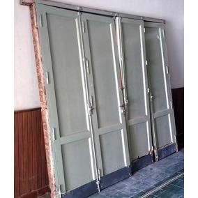 Portones de madera para garage usados aberturas portones - Garage de madera ...