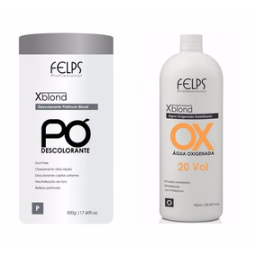 Pó Descolorante E Ox Vol 20 Felps Profissional