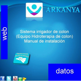 Hidroterapia De Colon (manual De Instalación)