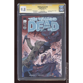 The Walking Dead #100 Autografada Kirkman. (certificado Cgc)