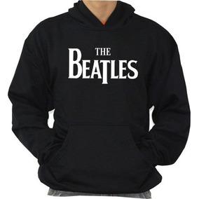 Blusa The Beatles Moleton Canguru Otima Qualidade!