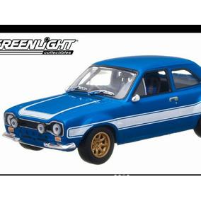 Ford Scort Rapido Y Furioso Greenlight 1:18 Superd Lyly Toys
