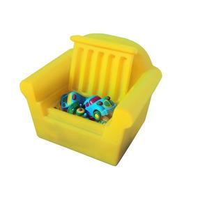 Banquinho , Poltrona Infantil Com Bau Guarda Brinquedos