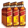 Caixa - Kit 6 Whisky Johnnie Walker Red Label 1 Litro