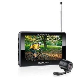 Gps Multilaser Tracker Iii Tela 4.3 Câmera Ré Tv Fm Gp035