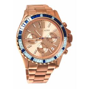 849ff86723cd3 Mk 5755 Rose Pedra Swarovski - Relógios De Pulso no Mercado Livre Brasil