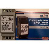 Protector De Sobre Y Baja Tensión Din Monofásico 5kw Rbc