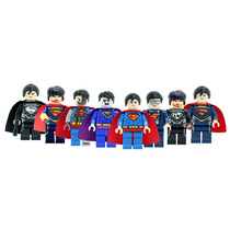Set De Super Man Compatible Con Lego