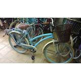 Bicicleta Vintage Canasto Desmontable O De Platico R26!!!