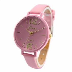 Relógio De Pulso Feminino Luxo Pulseira De Couro .