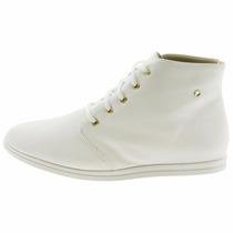 Sapato Branco Enfermagem Tenis Bota Botinha Feminina Branca
