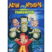 Alvin Y Las Ardillas Conocen A Frankenstein Pelicula En Dvd