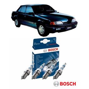 Jogo 4 Velas Bosch Monza 2.0 110cv Àlcool 86 87 88 89 90 91