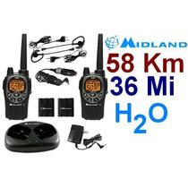 Radios Midland Gxt1000vp4 58km 36 Millas 2 Vías