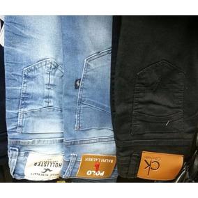 Kit Calça Jeans Feminina Atacado - Lote Com 3 Unidades