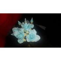 Flores Porcelana Souvenir Cumpleaño 15 Años Bautismo Casamie